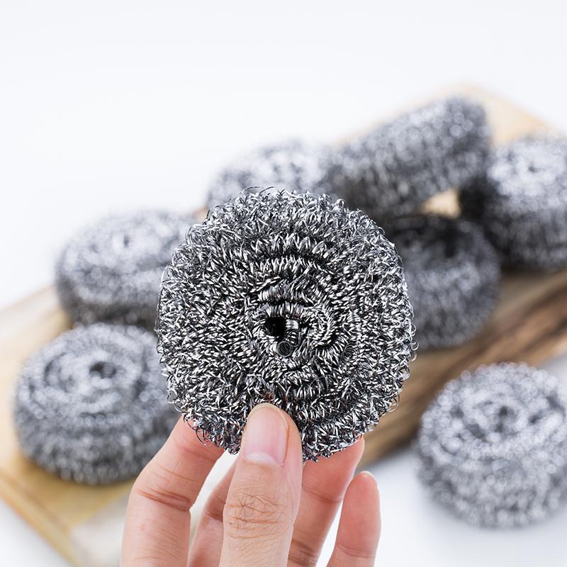 40个装清洁球钢丝球不生锈不掉渣厨房清洁用品洗碗刷清洁球