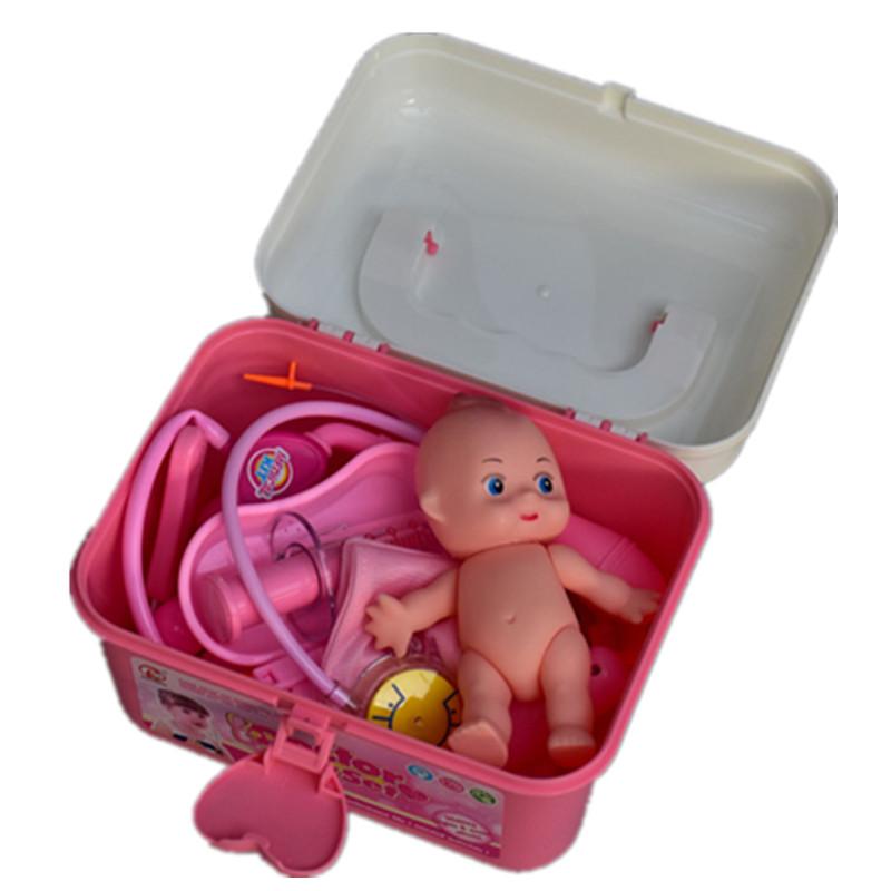 儿童套装打针听诊手提式医疗工具箱过家家医生玩具医具仿真医护箱