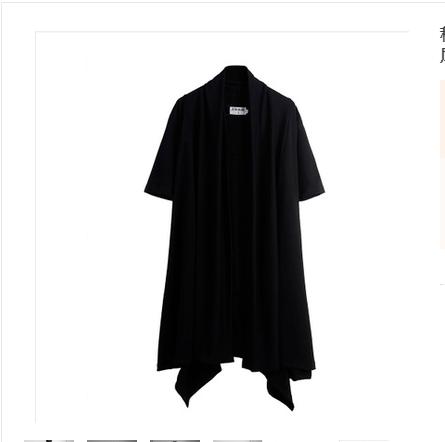 秋季暗黑系男装过膝长风衣巫师袍子黑暗魔法师斗篷大衣巫师外套夏