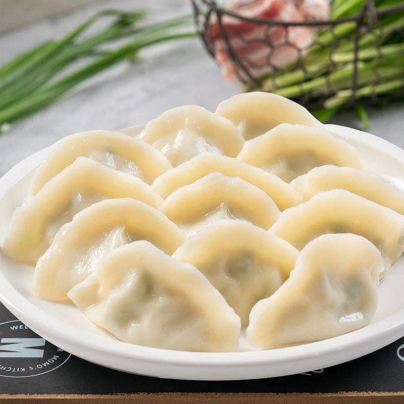 船歌鱼水饺墨鱼鲅鱼460g*2袋手工包制海鲜早餐速食速冻饺子煎饺