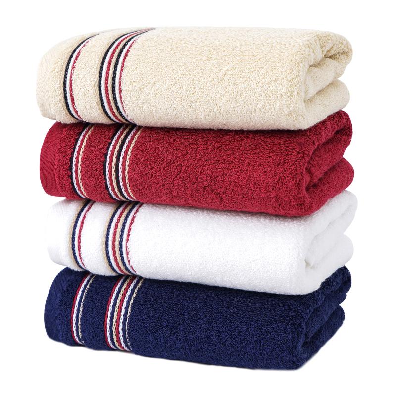 金号A类毛巾纯棉面巾1条装全棉洗脸家用情侣加厚柔软吸水不掉毛
