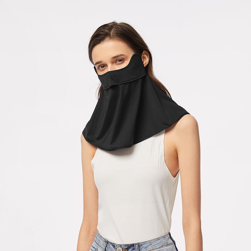 蕉下护颈防晒面罩女夏全脸防紫外线防尘透气可清洗冰丝面罩