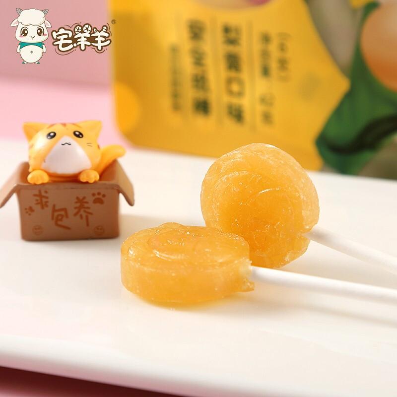 【猫超】宅羊羊梨膏棒棒糖6支/包