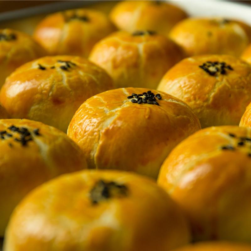 【包邮】嘉瑶蛋黄酥6枚300g雪媚娘早餐蛋糕点心网红小吃面包零食 No.2
