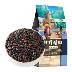 十月稻田五常血糯米1kg黑糯米紫糯米糯米 五谷杂粮粗粮饭