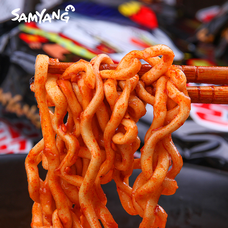 韩国进口Samyang/三养火鸡面混合6袋方便面网红宿舍泡面拉面零食