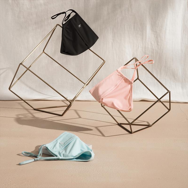 蕉下防晒女夏季防紫外线防尘透气薄款可清洗面罩
