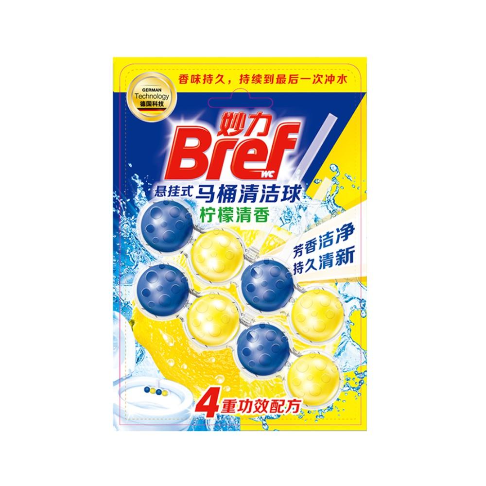 汉高Bref妙力洁厕球柠檬香2入装