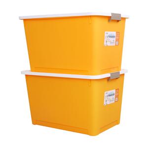 美丽雅加厚收纳箱家用衣服箱子特大号整理箱家用学生宿舍储物盒子