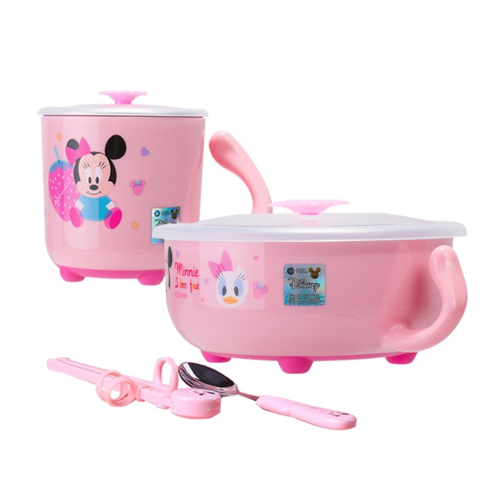 迪士尼宝宝饭碗儿童碗杯勺筷4件餐具