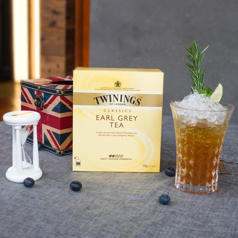 佛手柑清香袋泡茶 200g 川宁英国进口茶叶豪门伯爵红茶包 Twinings