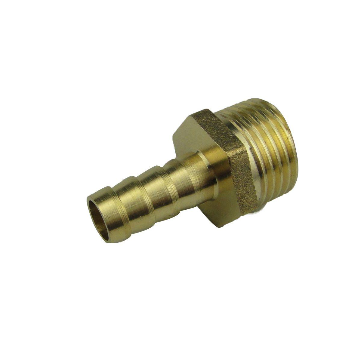 4分外牙宝塔咀格林头外丝弯头宝塔头气管气动软管接头铜接头