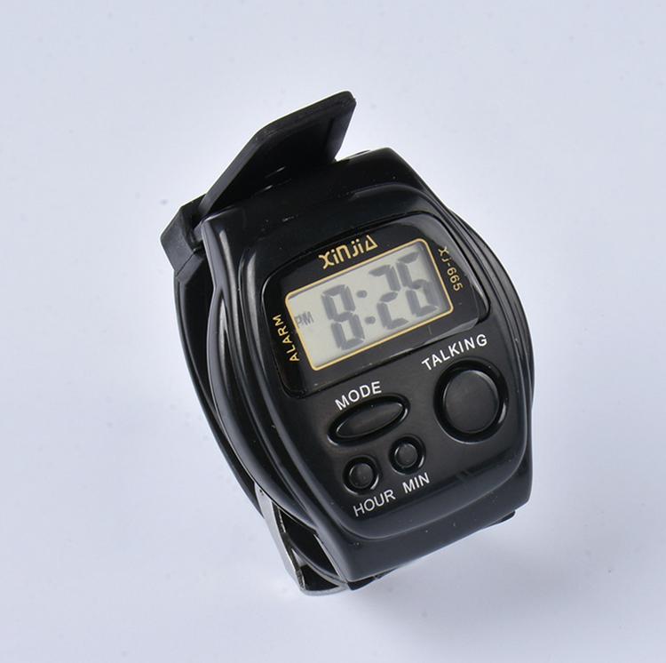 厂家直销 老年人表 语音报时表 盲人手表 盲人用品 电子表老人表