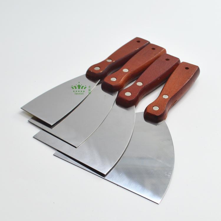 不锈钢灰刀加厚油灰刀铲刀抹泥刀刮刀清洁填缝腻子小刮刀油漆工具