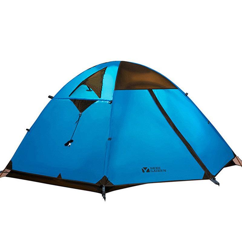 套餐 4 升级版双层铝杆冷山 2air 3 牧高笛帐篷双人三人户外露营冷山
