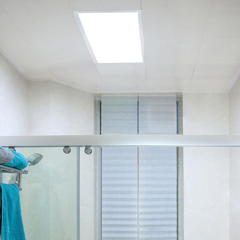 平板燈超薄嵌入式廚房衛生間防銹防潮面板燈 led 飛利浦集成吊頂