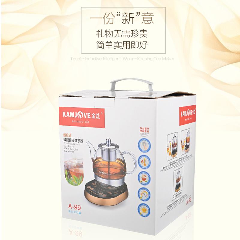 全自动煮茶器电茶壶煮黑茶普洱玻璃壶咖啡机炉 99 A 金灶 KAMJOVE