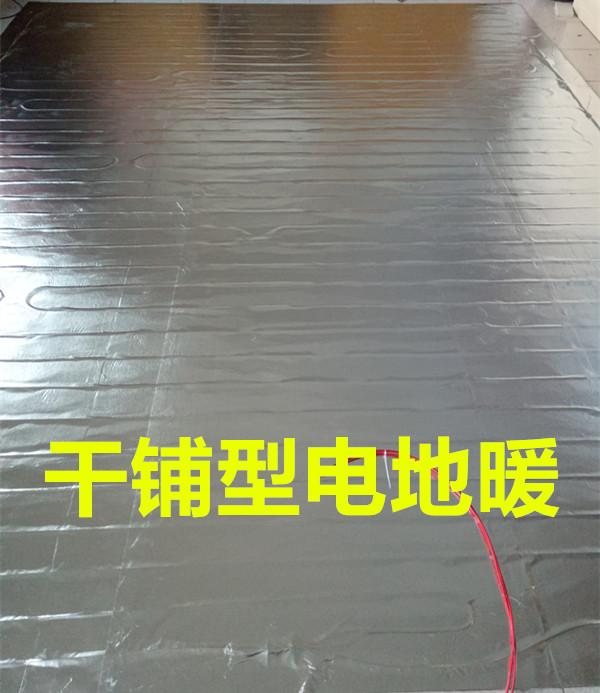 免铺水泥住宅用木地板干铺电地暖瑜伽馆汗蒸房榻榻米教室电热炕席