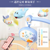 0-1 years old newborn baby bed bell baby toys 3-6-12 months music rotation bedside bell rattles puzzle 2