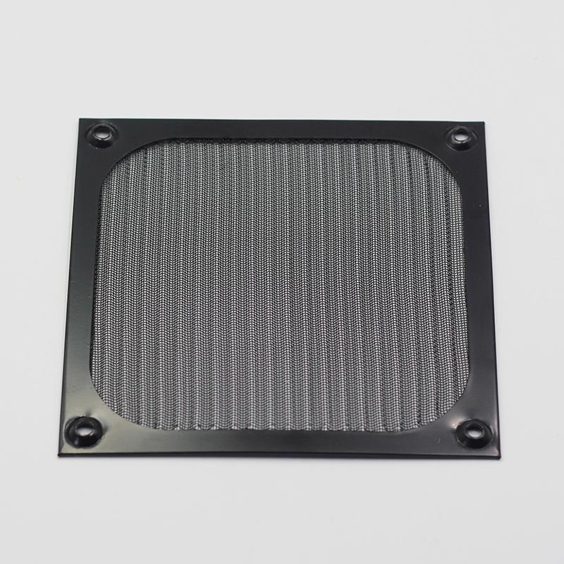 机箱风扇防尘网 12CM电脑防尘网 金属防尘网 铝合金材质 可拆洗