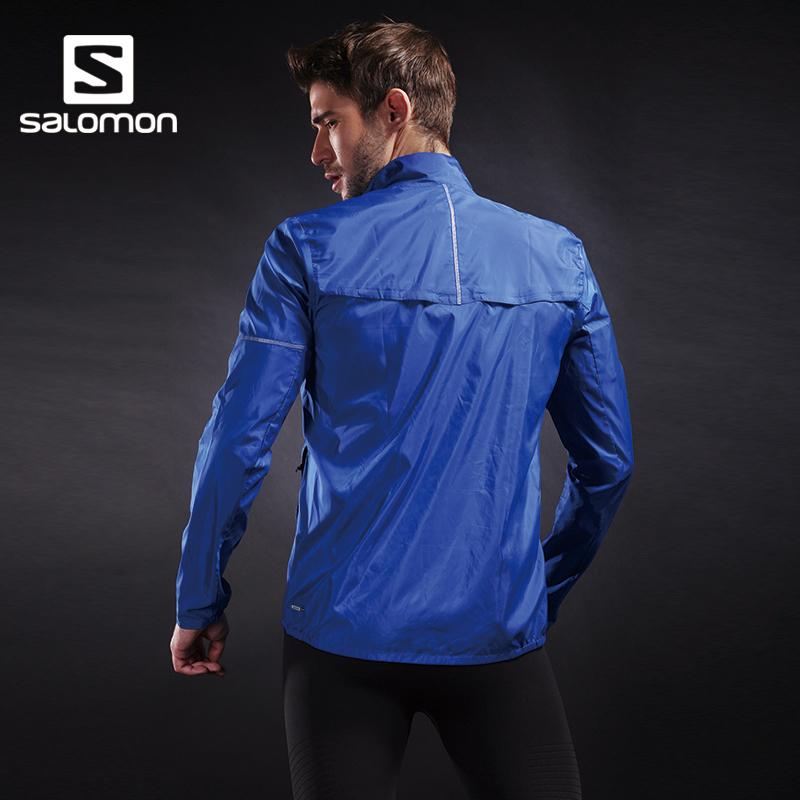 新品 18 WIND AGILE 防晒衣 萨洛蒙男款户外皮肤衣 Salomon