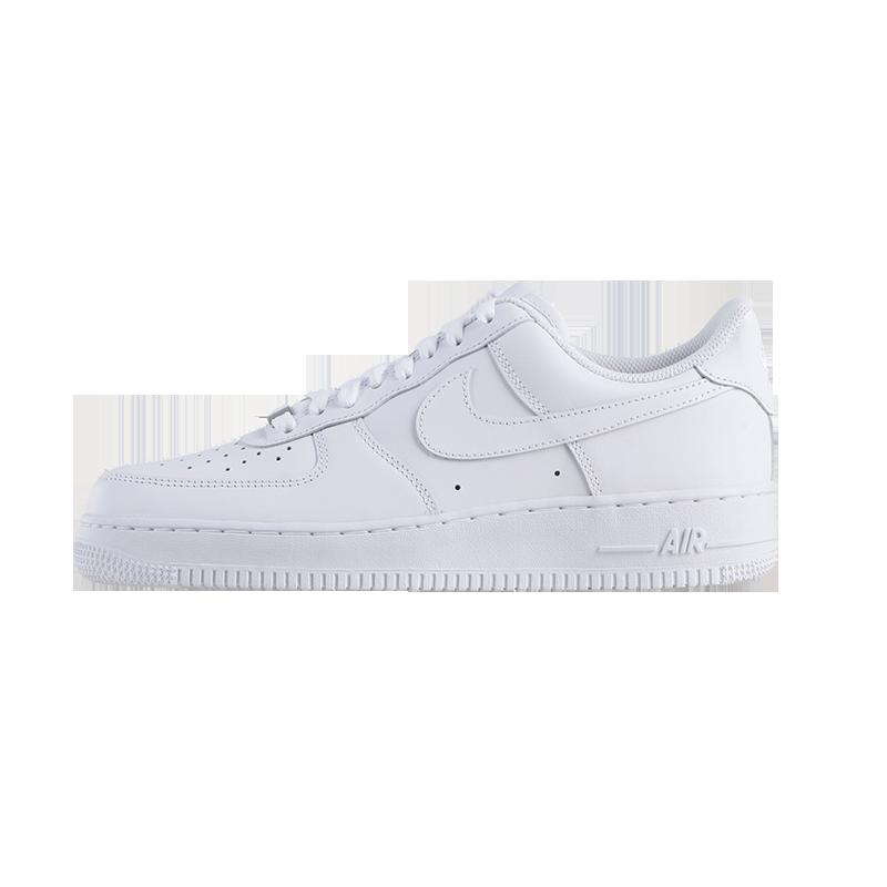 耐克Nike Air Force 1 AF1纯白空军一号男女休闲鞋板鞋315122-111 - 图3