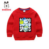 Babudou 2020 Spring and Autumn New Boy Sweatshirt Cotton Outerwear Cartoon Top Child Baby Ride Foreign Trend