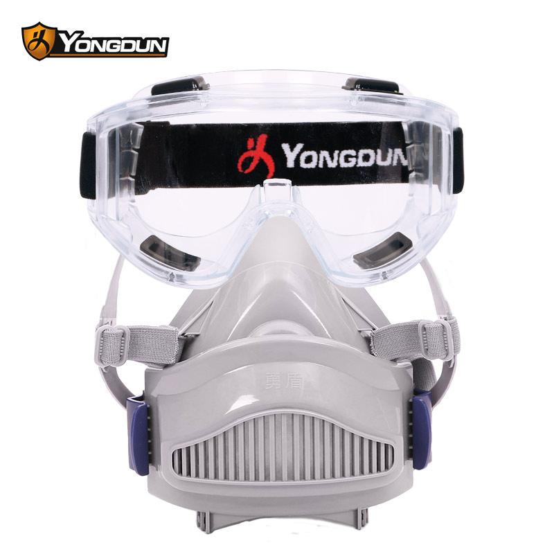 防尘面俱头戴式防尘口罩防工业粉尘打磨透气防灰尘防护劳保口罩