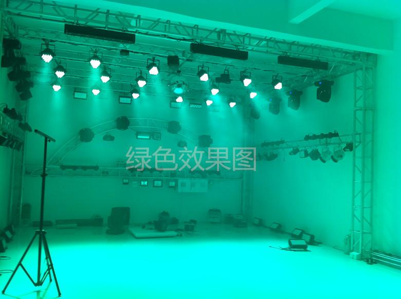 新款 LED帕灯54颗3W全彩帕灯54颗四合一LED面光灯婚庆舞台灯光