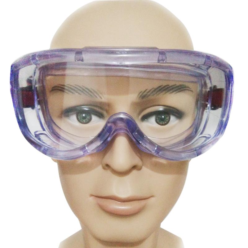 透明防尘护目镜 防风沙防冲击骑行风镜工业喷漆打磨劳保防护眼镜