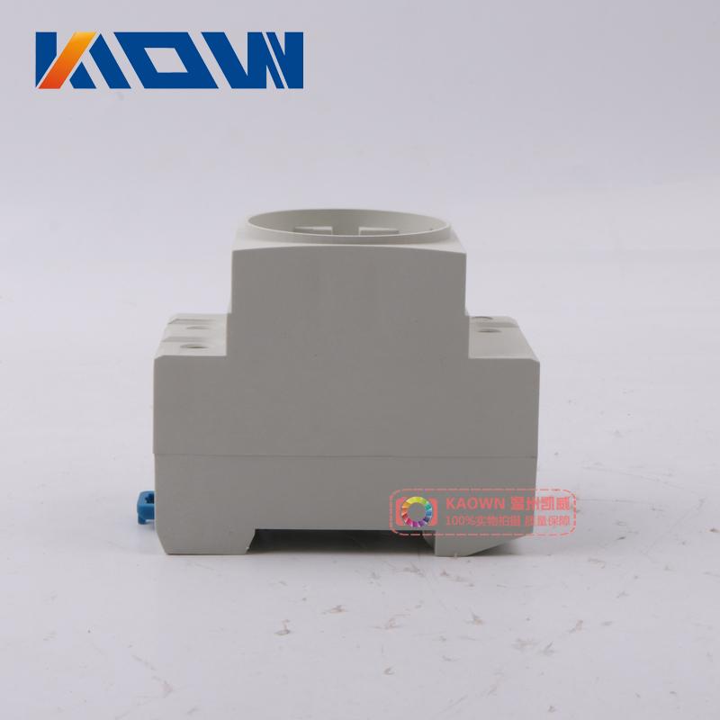 欧标导轨插座 德式AC30插座10A 16A 出口欧式模数化插座