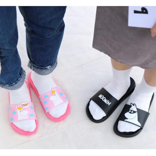 韓國正品romane情侶可愛防滑浴室拖鞋MOOMIN姆明男女夏季居家涼鞋