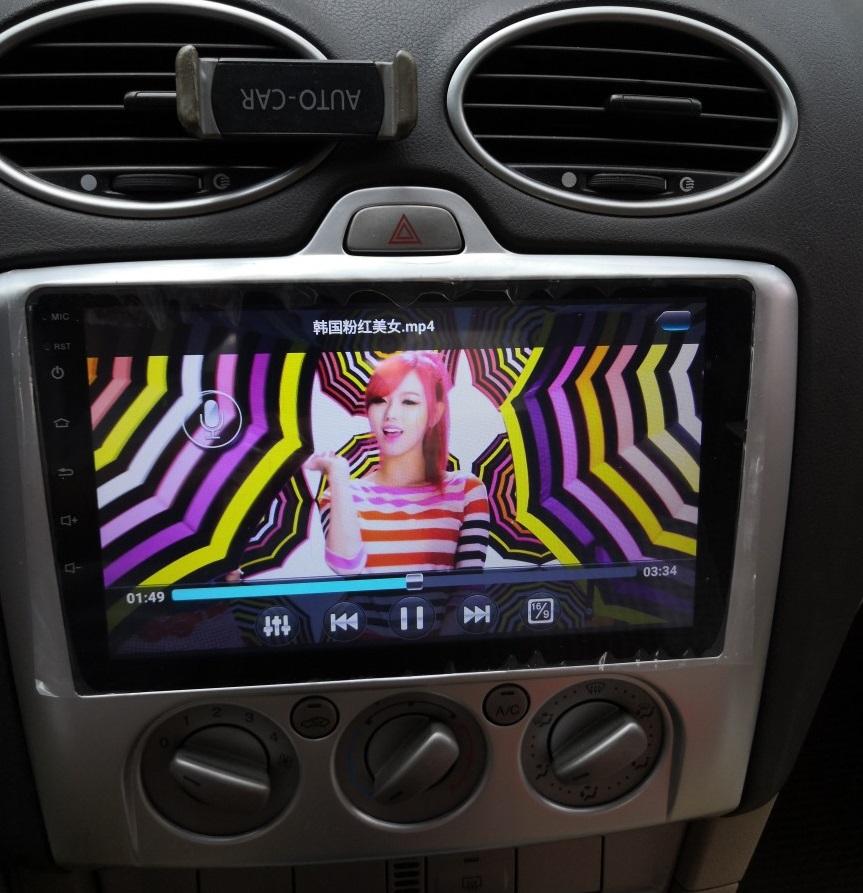 福特经典福克斯福睿斯锐界原车专用安卓大屏导航倒车影像一体机