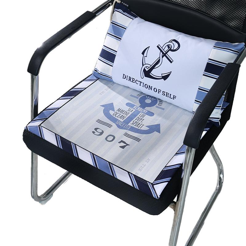 椅子坐垫靠垫抱枕套装卡通加厚通用学生坐垫抱枕组合餐椅垫子组合