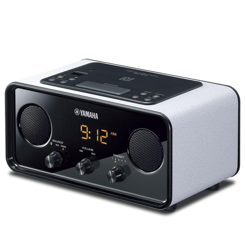 预售Yamaha/雅马哈TSX-B72蓝牙复古音箱手机闹铃迷你卧室床头音响