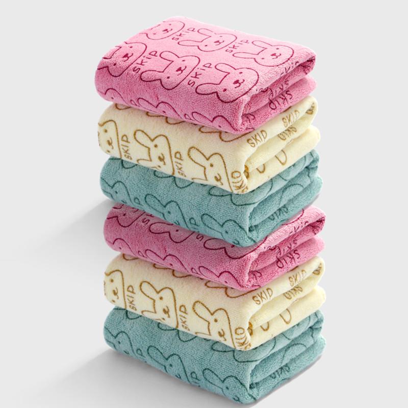 超细纤维大毛巾 加厚纤维面巾 情侣成人家用洗脸巾 柔软吸水