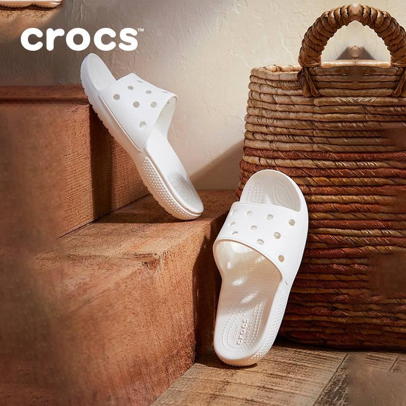 杨幂同款Crocs女拖鞋卡骆驰2020新款经典拖鞋女士外穿拖鞋|206121