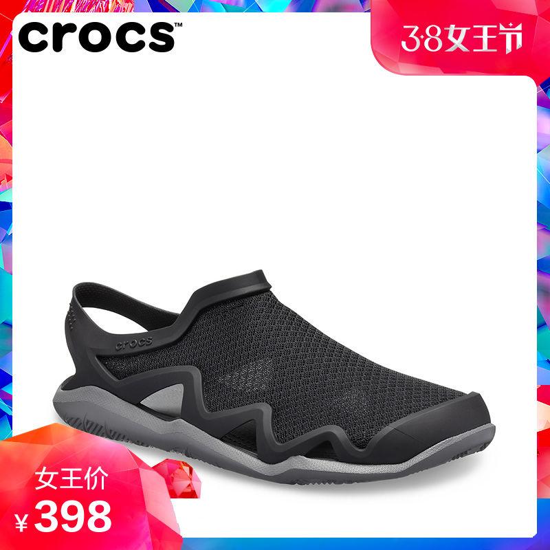 205701 夏日溯溪鞋 新款激浪男士酷网涉水鞋 2019 春季 凉鞋 Crocs