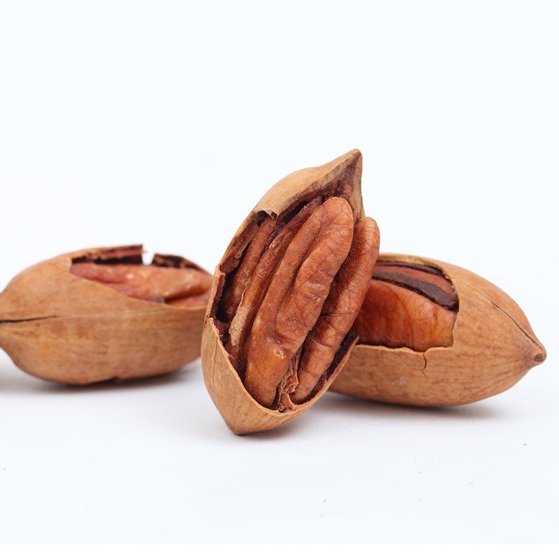 新货薄壳奶香美国山核桃 长寿果 碧根果 500克休闲零食坚果特产