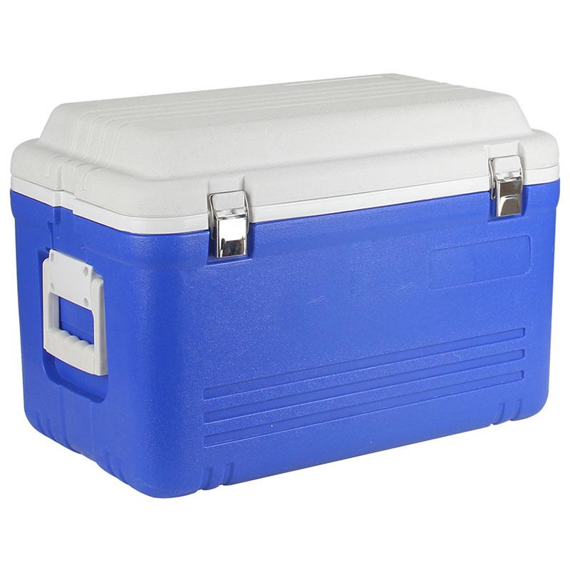 80升车载户外保温箱冷藏箱便携保鲜箱 PU冷暖箱超大号家用外卖箱