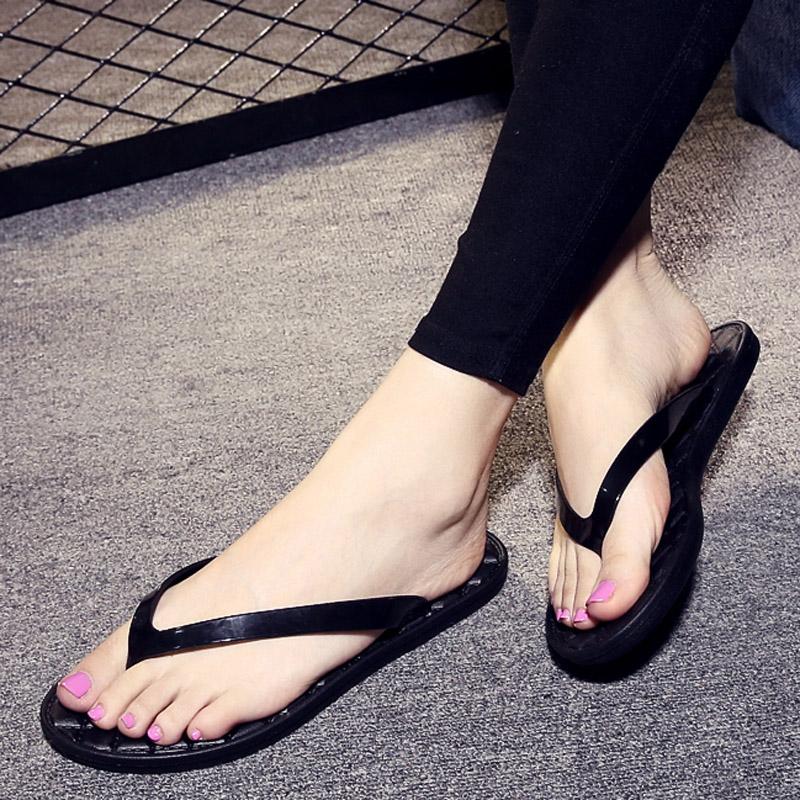包邮防滑菱格人字拖细带夏季欧美女鞋夹拖凉拖鞋平底厚底沙滩鞋