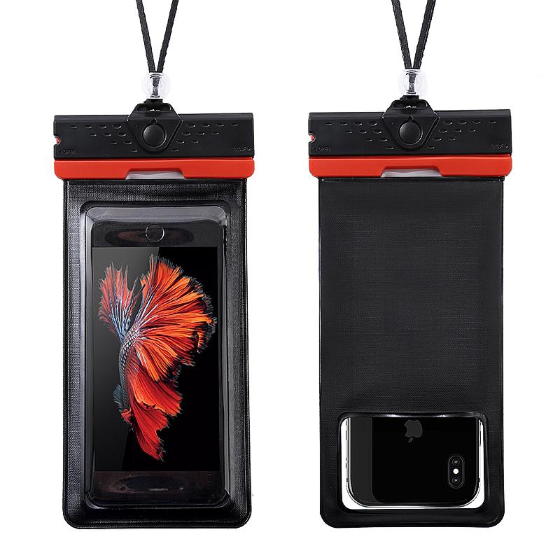 手机防水袋外卖专用骑手防雨骑行放水透明防尘潜水套触屏包可充电
