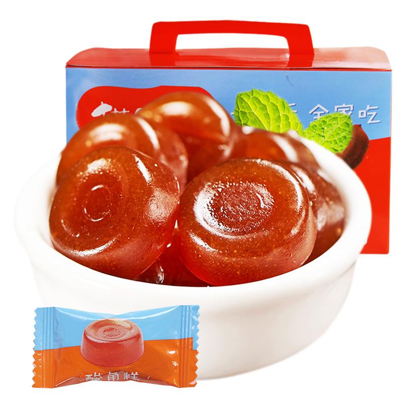 【猫哆哩_酸角糕1000g】酸角云南特产小吃孕妇零食水果糖果食品