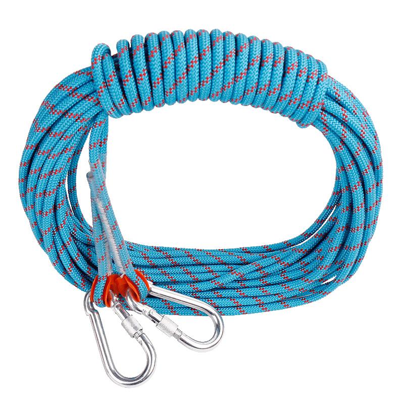 援邦户外登山绳子安全绳攀岩绳速降绳攀登绳尼龙绳逃生装备救援绳