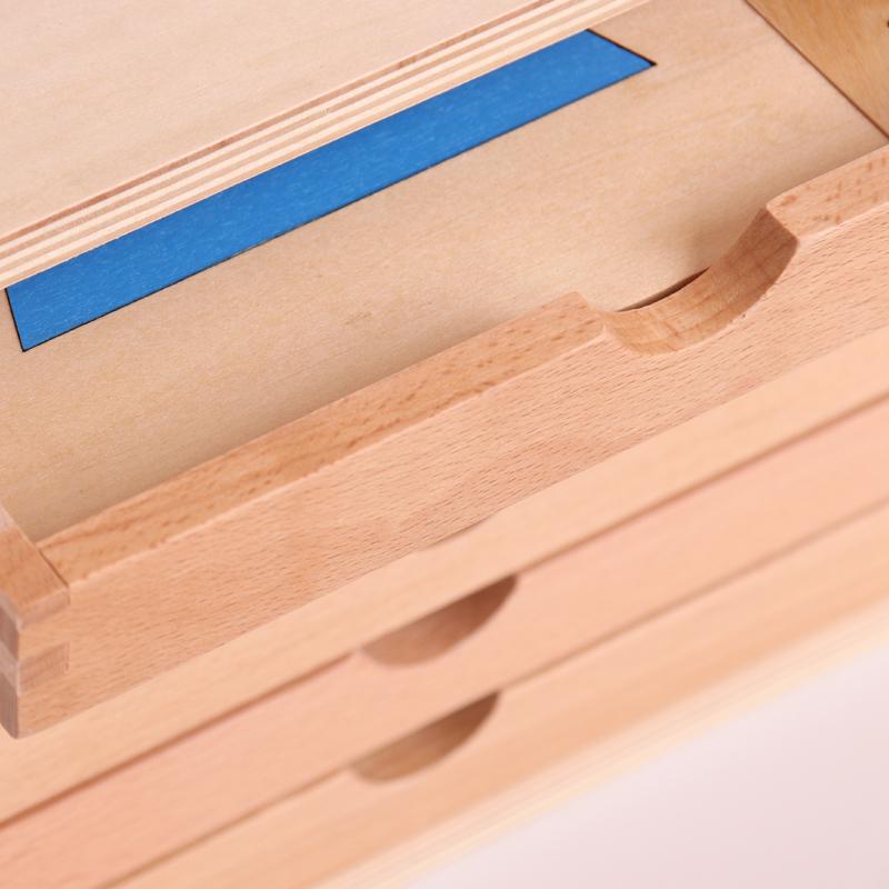 蒙特梭利教具几何图形嵌板橱几何柜感官教具蒙氏教具儿童启蒙教具