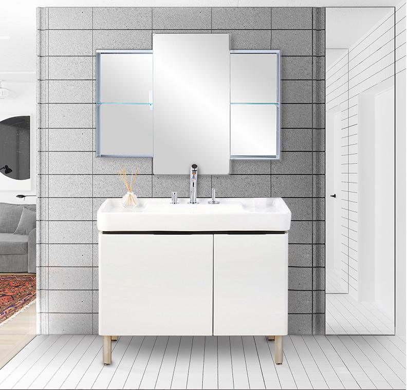 科勒浴室柜组合希尔维台盆柜现代简约小户型卫浴柜套装K-45764T
