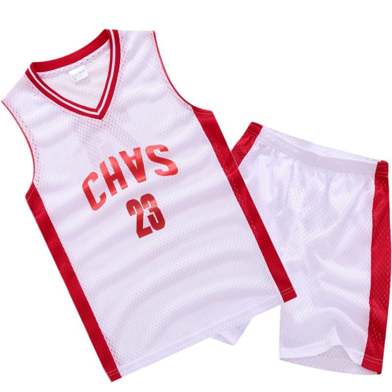 儿童装男童篮球服运动背心套装夏季新款4-15岁初中小学生男孩球衣