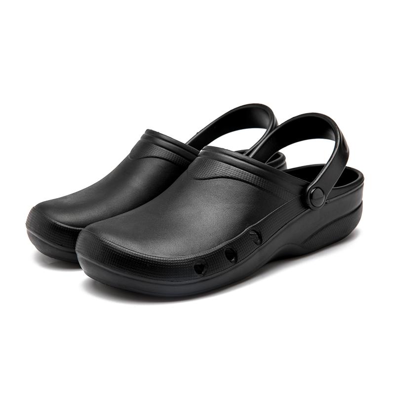 正品滑克厨师鞋防滑厨房鞋男防水防油耐磨酒店专用工作鞋夏季透气