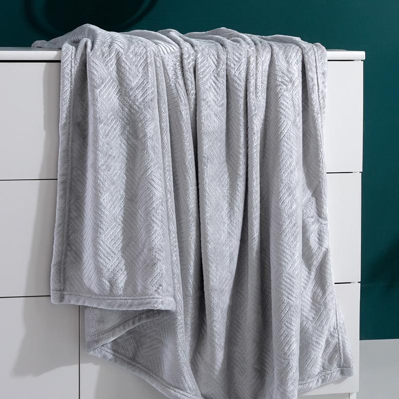 罗莱家纺学生宿舍单人双人办公室午睡毯小凉被夏凉感毯子毛巾被子 - 图3