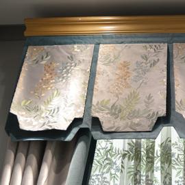 轻奢欧式窗帘加厚美式客厅大气高档绣花豪华新中式窗帘定制弗兰茨